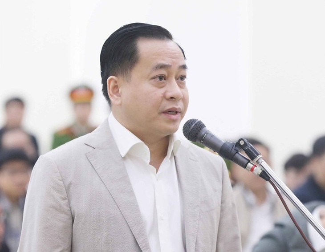 Bị cáo Phan Văn Anh Vũ tại tòa sơ thẩm