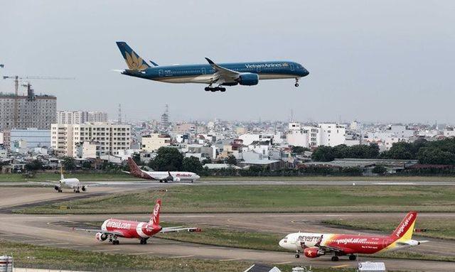 Các chuyến bay trở về từ Hàn Quốc chỉ được hạ cánh ở 3 sân bay là Vân Đồn, Phù Cát, Cần Thơ