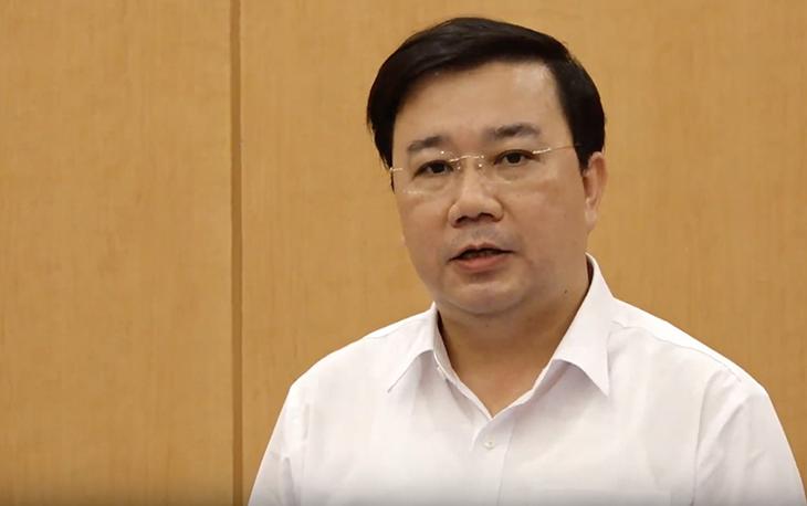 Ông Chử Xuân Dũng phát biểu tại cuộc họp trực tuyến ngày 28/2.