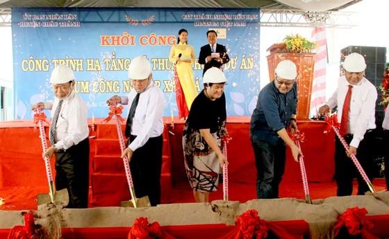 Lễ khởi công Cụm Công nghiệp Xây Đá B. Nguồn Internet