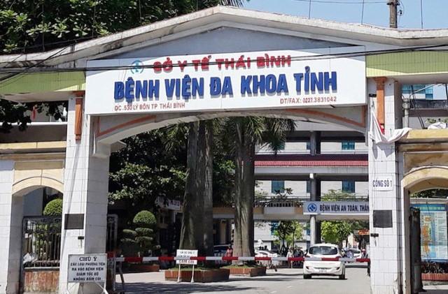 Bệnh viện Đa khoa tỉnh Thái Bình.
