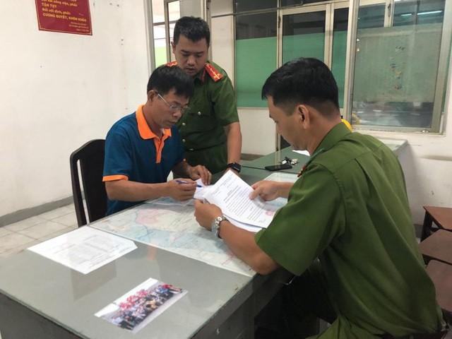 Bị can Nguyễn Hải Nam tại cơ quan điều tra.