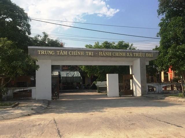 Ông Khoa cùng 2 cán bộ bị khởi tố vì những sai phạm thời làm lãnh đạo xã Triệu Đại, giai đoạn 2013-2017.