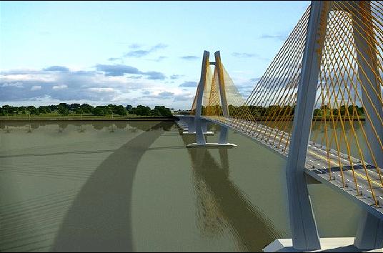 Mô hình cầu Mỹ Thuận 2 - Nguồn: Ban quản lý dự án 7