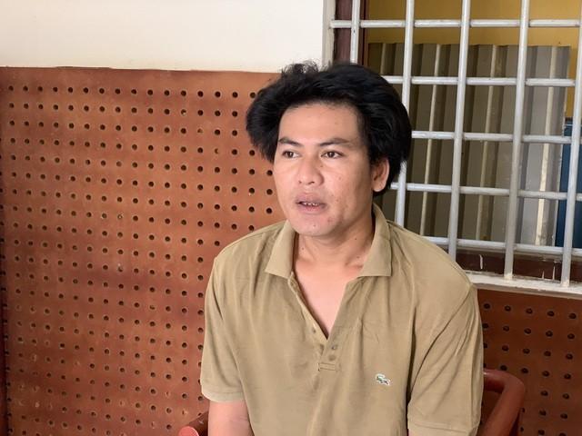 Lê Quốc Hòa tại công an huyện Gò Dầu