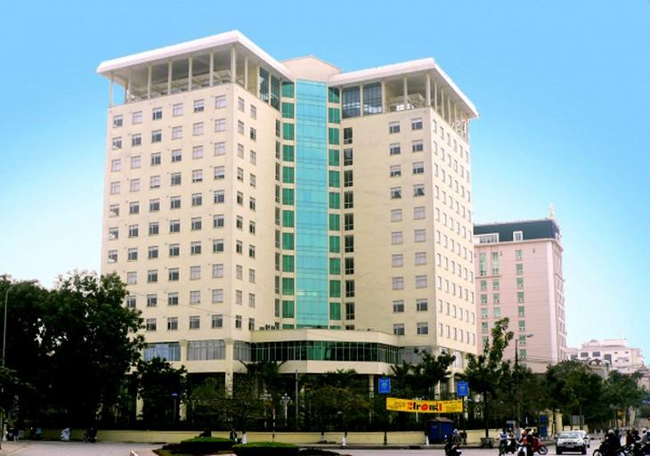 Trụ sở Viện Hàn lâm Khoa học Xã hội Việt Nam tại số 1 Liễu Giai. Ảnh: Vass