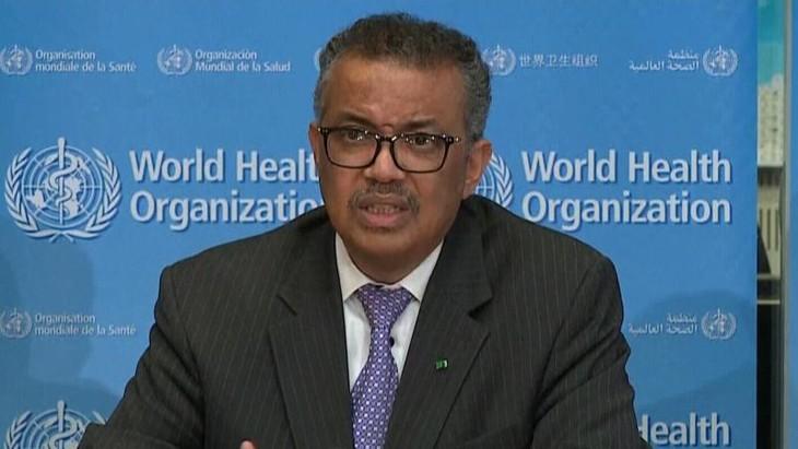 Tổng Giám đốc WHO chính thức công bố dịch bệnh COVID-19 là đại dịch.