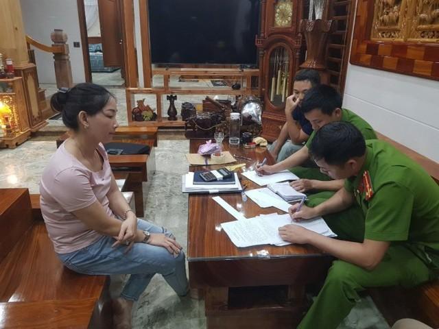 Đối tượng Nguyễn Thị Thu Hằng.