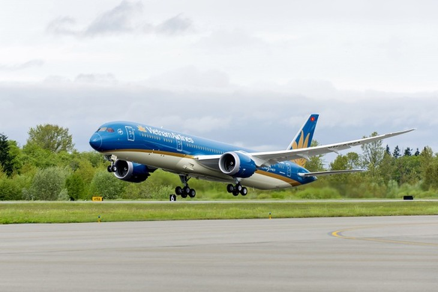 Vietnam Airlines không vận chuyển khách châu Âu về Việt Nam từ ngày 15/3