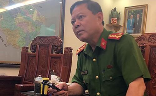 Ông Nguyễn Chí Phương lúc còn đương chức.
