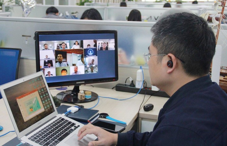 Họp trực tuyến với giải pháp VNPT Meeting