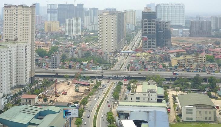 Nút giao Lê Văn Lương - Vành đai 3. Nguồn Internet