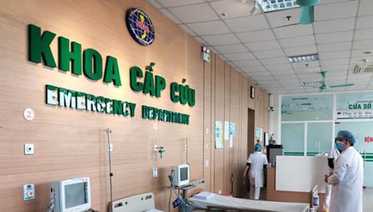 Bệnh viện Bệnh Nhiệt đới Trung ương hiện đang điều trị nhiều ca bệnh mắc COVID-19