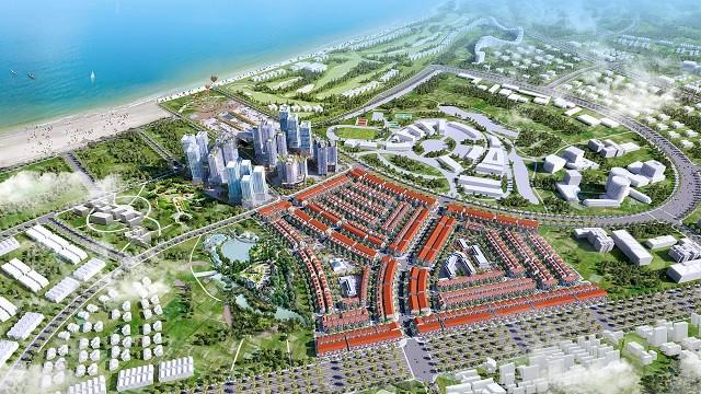 Phối cảnh một dự án của Phát Đạt tại Bình Định. Ảnh: PDR