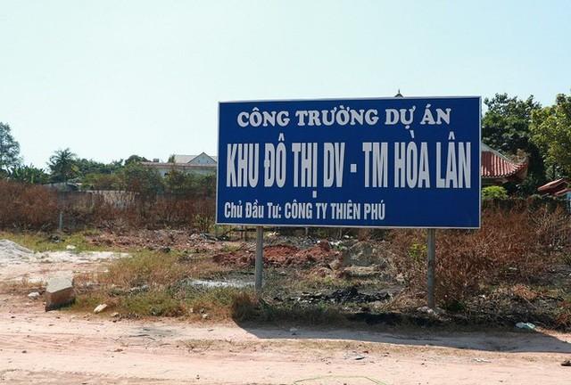 Công ty Thiên Phú đã lập khống danh sách 14 hộ dân để nhận tiền tái định cư của Công ty Kim Oanh