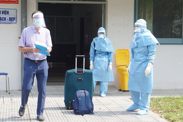 Bệnh nhân người Anh chuẩn bị xuất viện