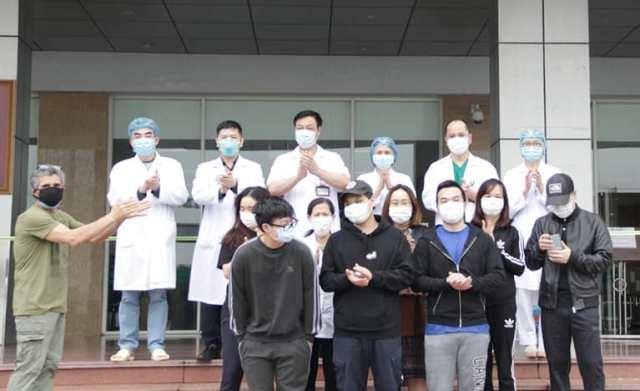 Các bệnh nhân trong ngày 2/4 được BV Bệnh Nhiệt đới Trung ương công bố khỏi bệnh