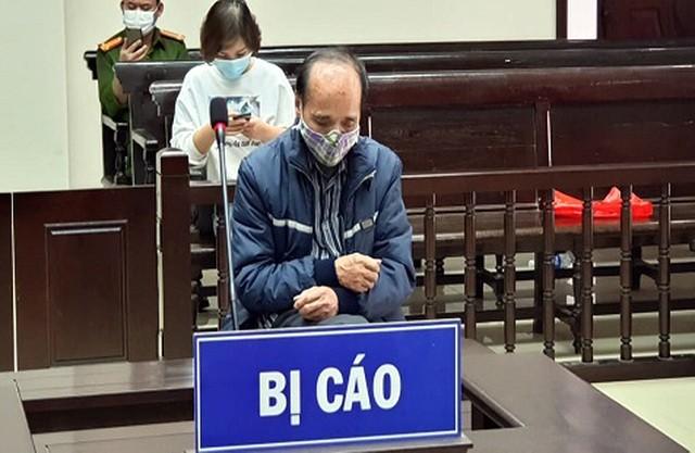 Bị cáo Nguyễn Kim Hữu tại tòa phúc thẩm.
