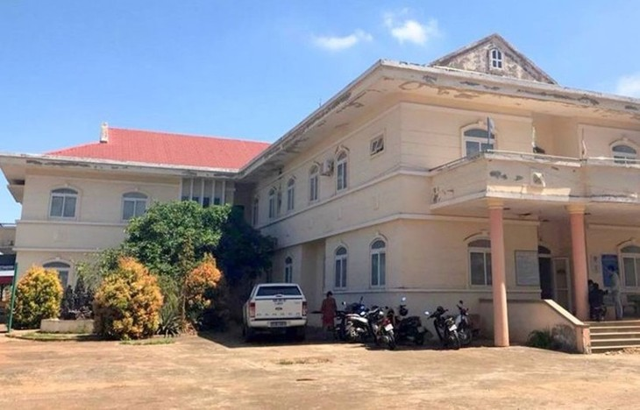 Khu cách ly tại Trung tâm y tế huyện Đắk Mil nơi xảy ra sự việc