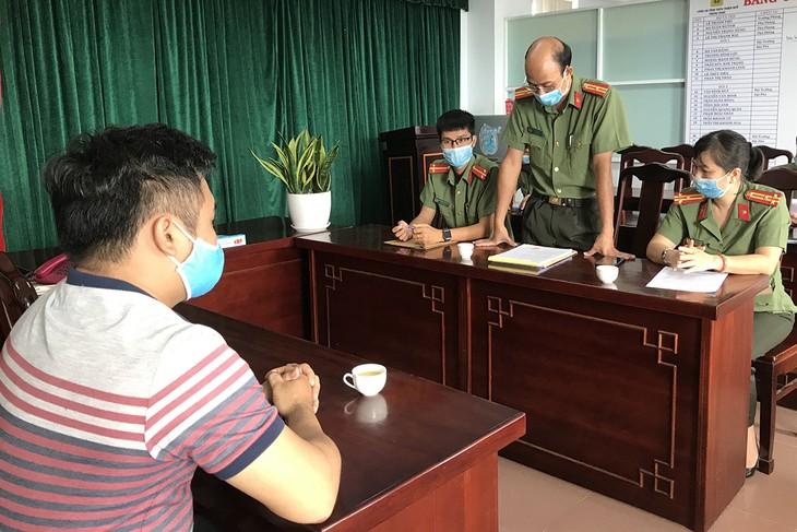 Nguyễn Thanh Hùng tại cơ quan điều tra