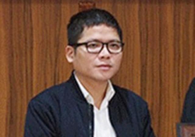 Bị can Trần Duy Tùng.
