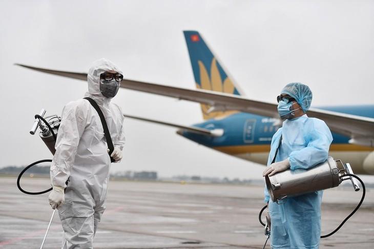 Vietnam Airlines chịu thiệt hại nặng nề nhất do dịch bệnh Covid-19. Ảnh: VOV