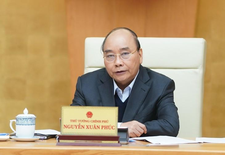Thủ tướng phát biểu tại cuộc họp - Ảnh: VGP