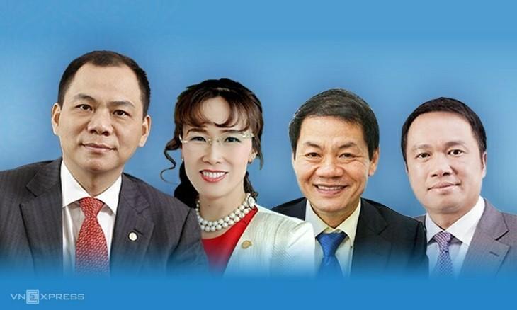 4 tỷ phú Việt Nam lọt danh sách của Forbes 2020.
