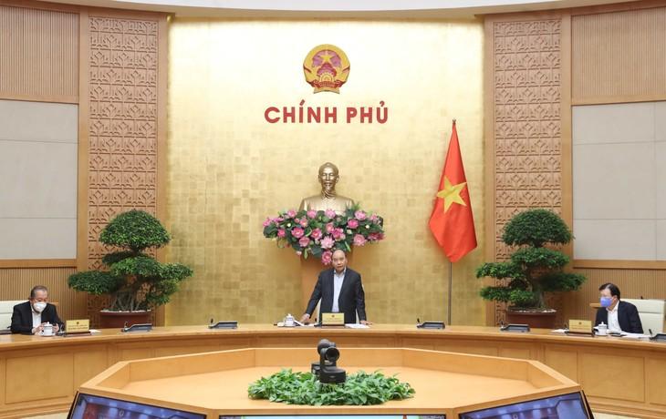 Thủ tướng phát biểu tại cuộc làm việc với tỉnh Đồng Nai. Ảnh: VGP