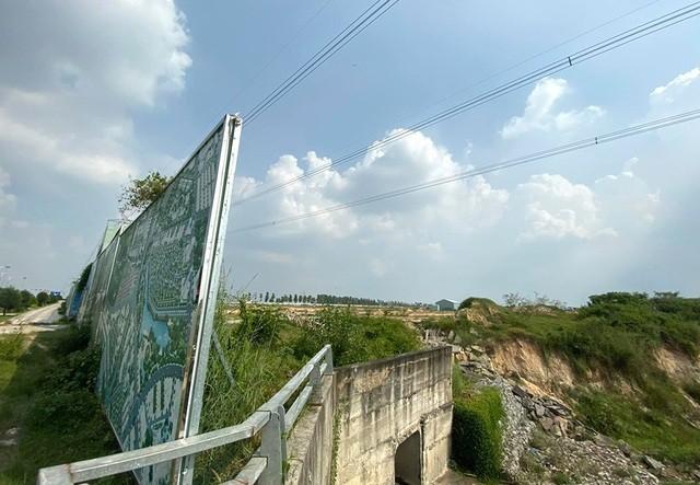 Khu đất 43ha nằm trong Khu đô thị - Thương mại - Dịch vụ Tân Phú.