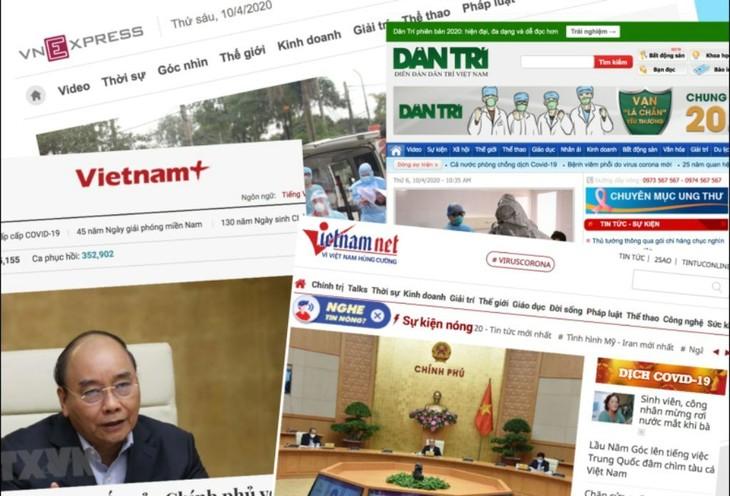 Nhà mạng miễn phí kết nối và hosting 2 tháng 4-5/2020 cho các báo điện tử.