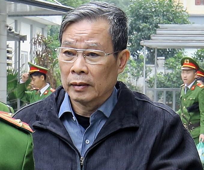 Ông Nguyễn Bắc Son trong quá trình xét xử sơ thẩm