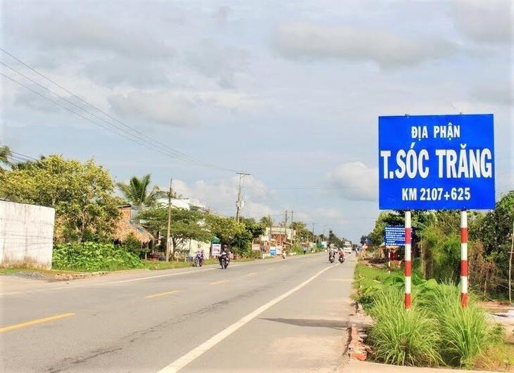 Quốc lộ 1 đoạn qua hai tỉnh Hậu Giang và Sóc Trăng được đầu tư bằng vốn nhà nước. Ảnh chỉ mang tính minh họa. Nguồn Internet