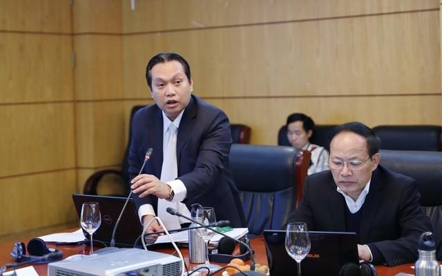 Ông Nguyễn Hưng Thịnh- Phó Tổng cục trưởng Tổng cục Môi trường (trái).