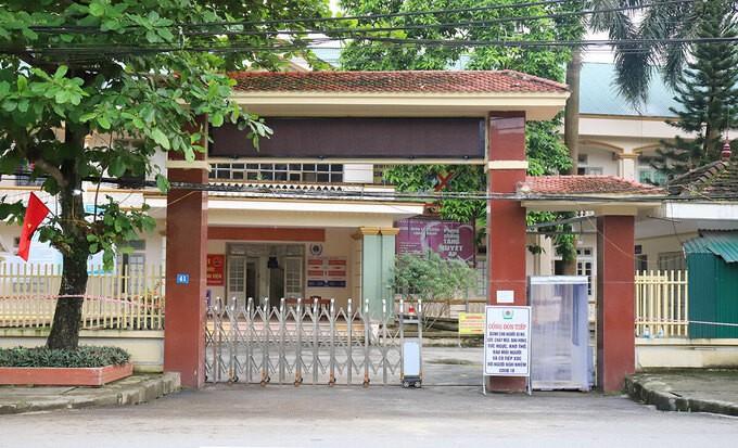 Bệnh viện Đa khoa Khu vực cửa khẩu Cầu Treo, nơi điều trị 4 bệnh nhân nCoV.