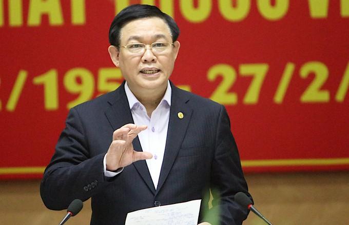 Bí thư Thành uỷ Hà Nội Vương Đình Huệ