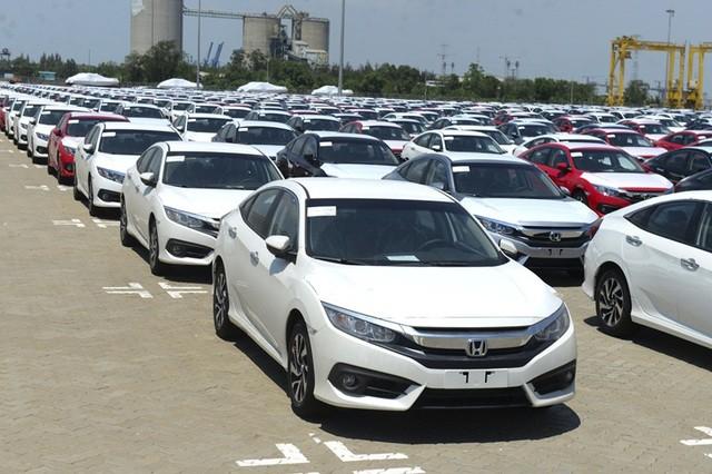 Xe nhập từ Thái Lan bị giảm đột ngột trên 14.500 chiếc, cao nhất từ trước đến nay
