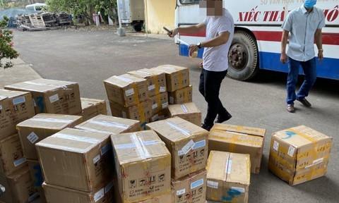 Số mỹ phẩm nhập lậu từ Trung Quốc bị cơ quan công an thu giữ