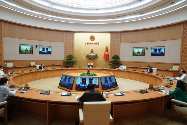 Thường trực Chính phủ họp chiều 20/4, xem xét tình hình diễn biến dịch Covid-19 và việc kéo dài hạn giãn cách xã hội từ 15-22/4.