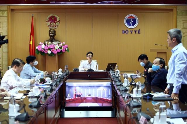 Ban Chỉ đạo quốc gia phòng chống dịch Covid-19 họp sáng 20/4 dưới sự chủ trì của Phó Thủ tướng Vũ Đức Đam.