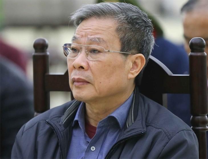 Ông Nguyễn Bắc Son tại TAND Hà Nội, ngày 20/12/2019. Ảnh: TTXVN.