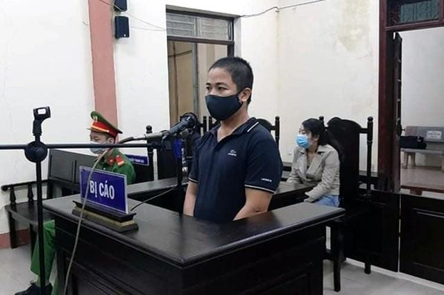 Bị cáo Phạm Văn Hải tại tòa sơ thẩm.