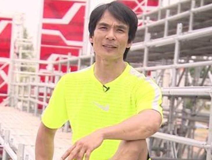 Nguyễn Phước Huynh trong một cuộc thi.