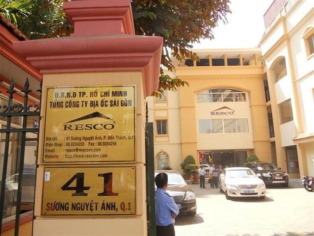 Hàng loạt sai phạm đã xảy ra tại Tổng công ty Địa ốc Sài Gòn - TNHH MTV TPHCM (Resco).