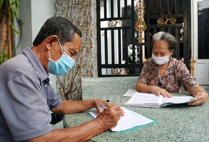 Ông Võ Văn Kính, Trưởng khu phố 1, phường Thạnh Mỹ Lợi (quận 2) xác định người thuê phòng thuộc diện được nhận hỗ trợ