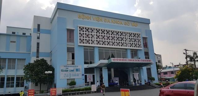 Bệnh viện quận Gò Vấp nơi ông Phạm Hữu Quốc làm giám đốc.