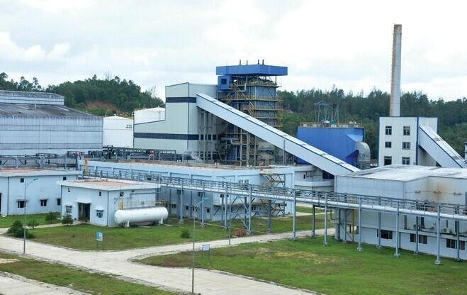 Nhà máy ethanol Bình Phước. Ảnh: PV Oil.