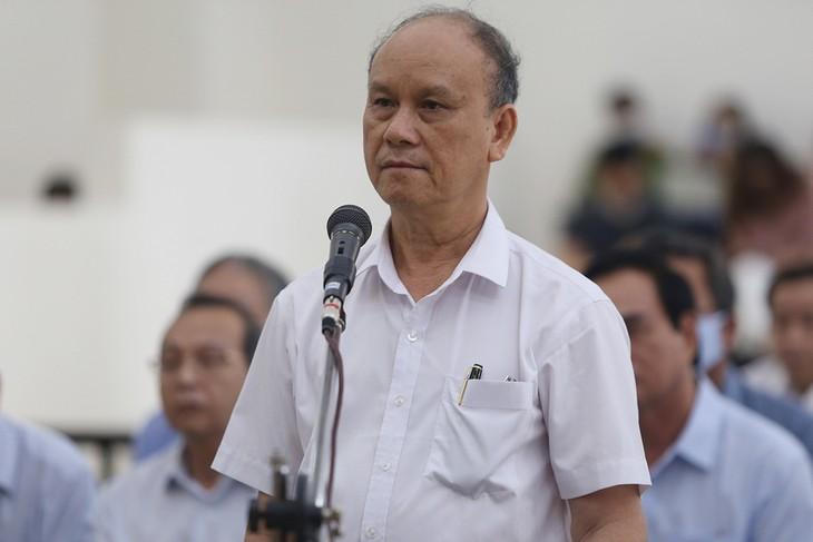 Cựu chủ tịch Trần Văn Minh.