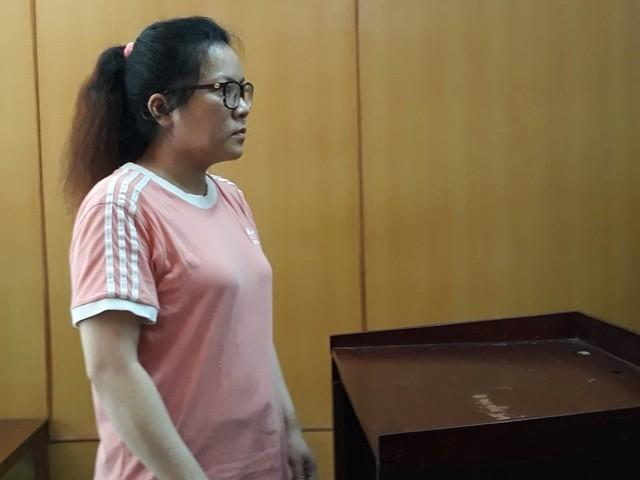 Bị cáo Linh tại tòa.