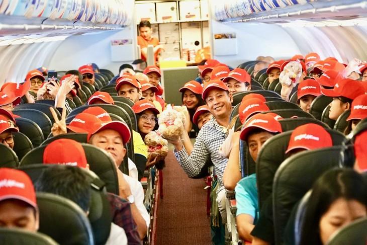 Vietjet tung hơn 200.000 vé giá 0 đồng trên các đường bay Việt Nam